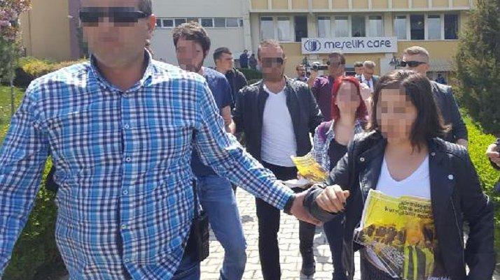Osmangazi Üniversitesi'nde 3 öğrenciye gözaltı