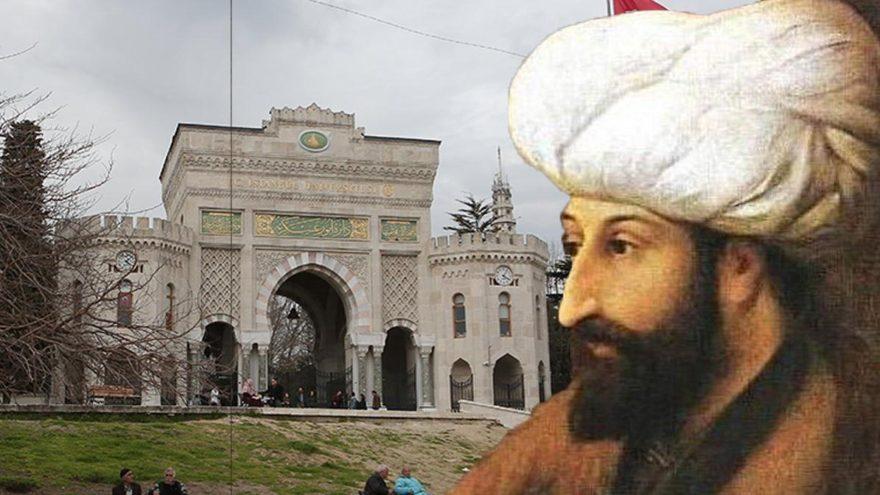 Fatih Sultan Mehmet'ten çarpıcı İstanbul Üniversitesi fermanı!