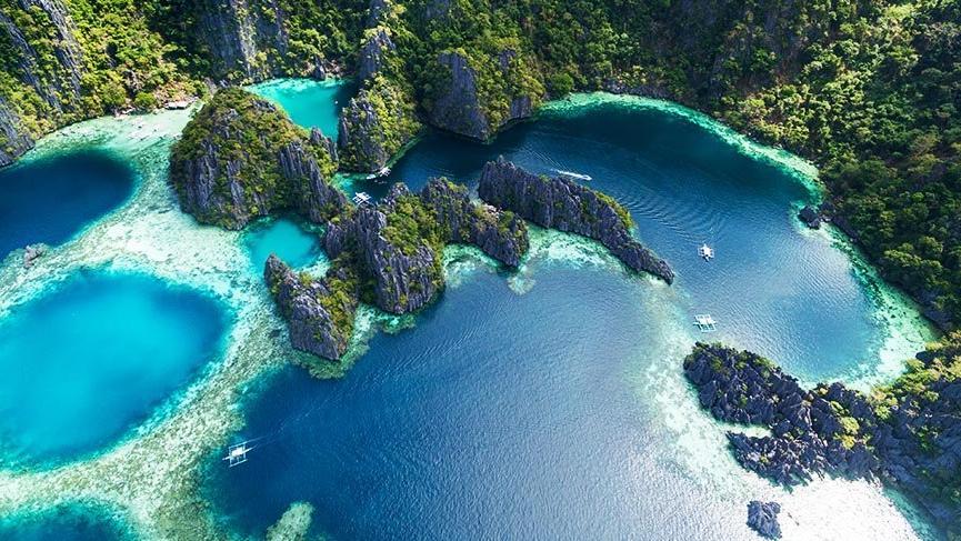 Filipinler'in cennet koyları: Coron Adaları