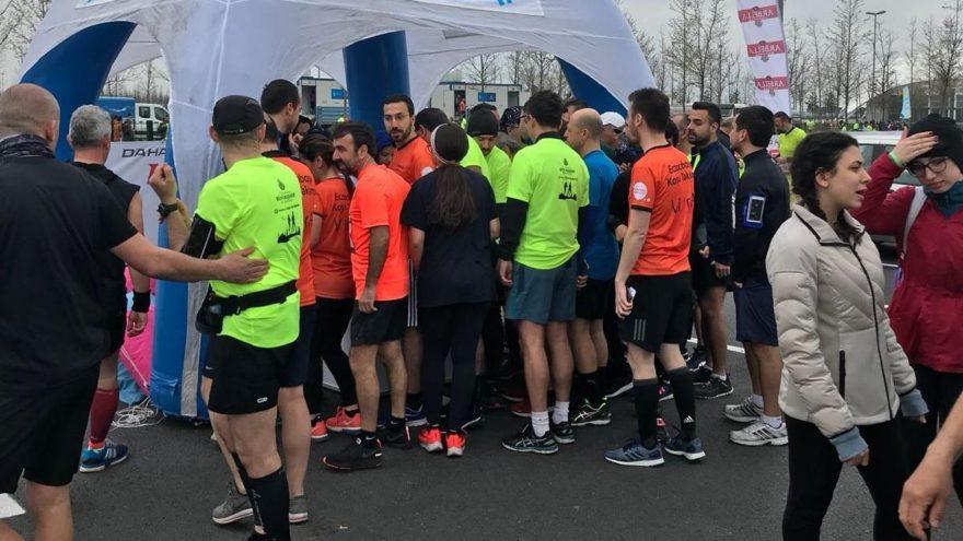 Vodafone 13. İstanbul Yarı Maratonu'na yoğun ilgi