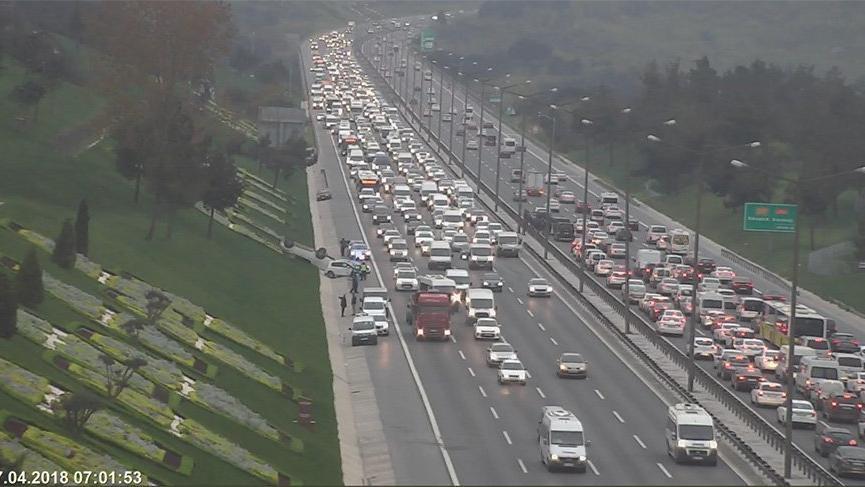 İstanbul'da merak trafiği