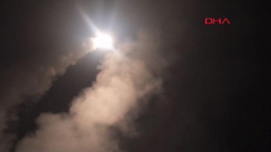 ABD, Suriye'yi denizaltından böyle vurmuş