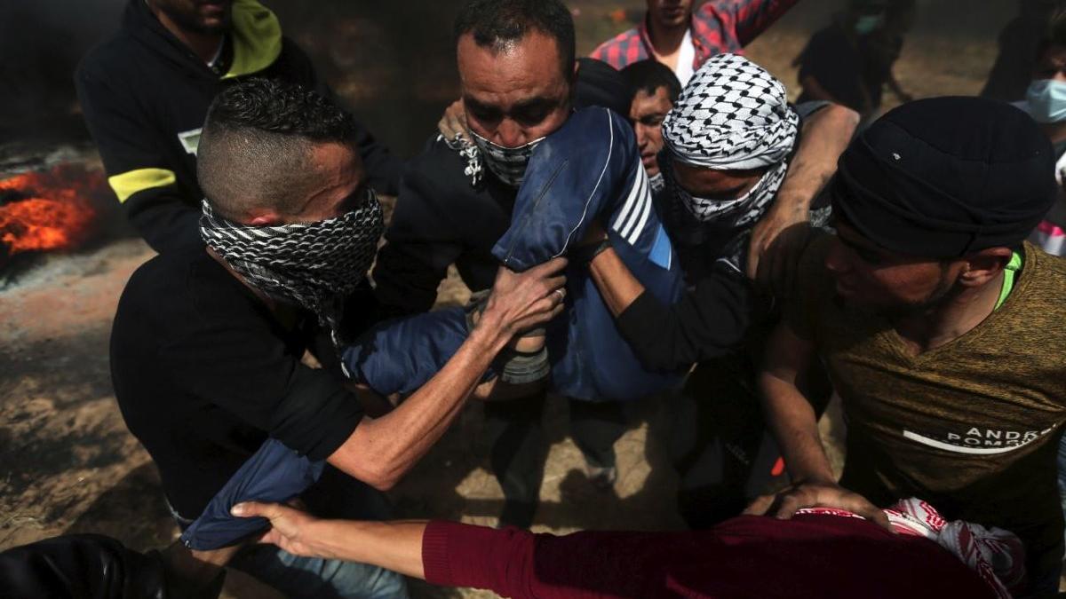İsrail göstericilere ateş açtı: 113 yaralı