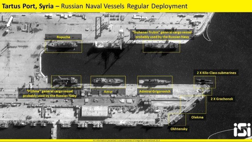 Dikkat çeken uydu görüntüleri… Rus gemileri yola çıktı