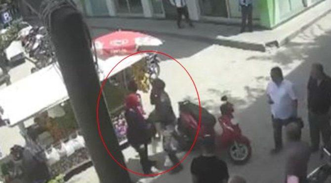 Hatay'da vahşet! Motosikletli şahıs hamile kadını tekme tokat dövdü