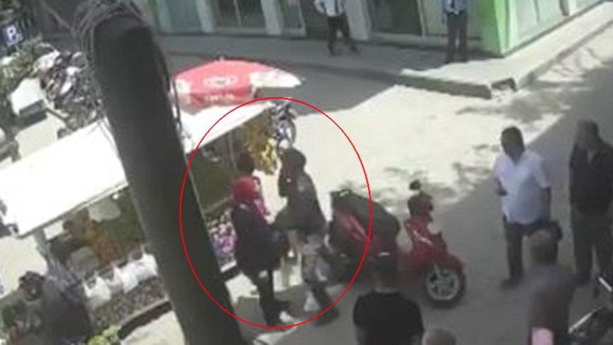 Hatay'da motosikletli dehşeti! Hamile kadını tekme tokat dövdü
