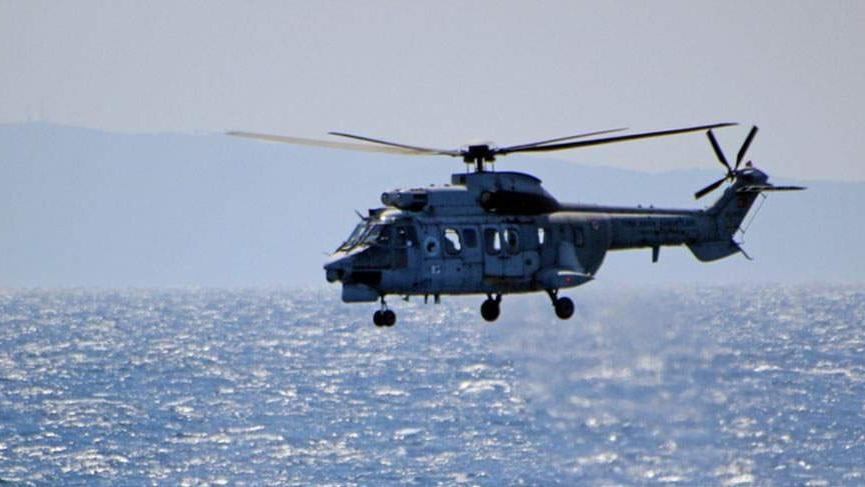 Yunan askerleri Türk helikopterine uyarı ateşi açtı
