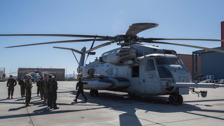 ABD'de askeri helikopter düştü