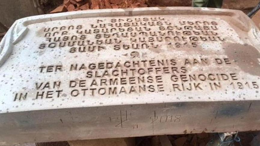 Hollanda'da sözde soykırım anıtı açılıyor