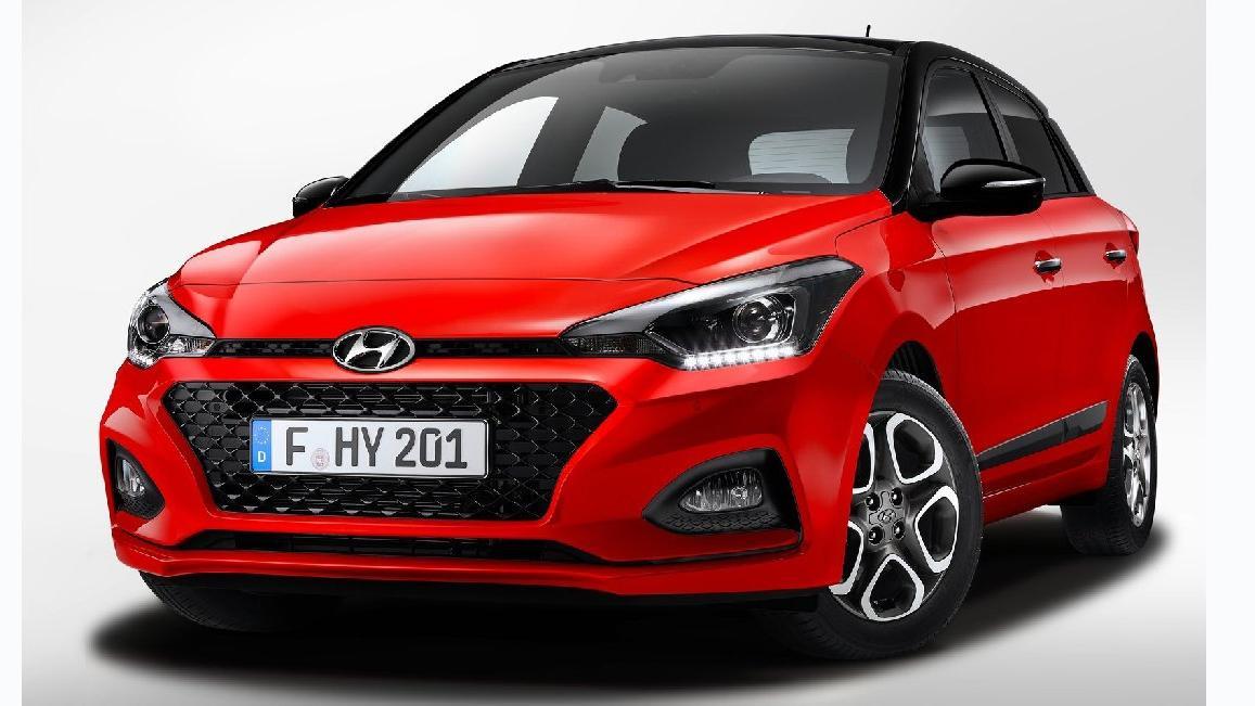 Hyundai'den i20'ye makyaj!