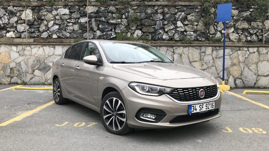 Türkiye'nin en çok satılan otomobili : Fiat Egea Sedan