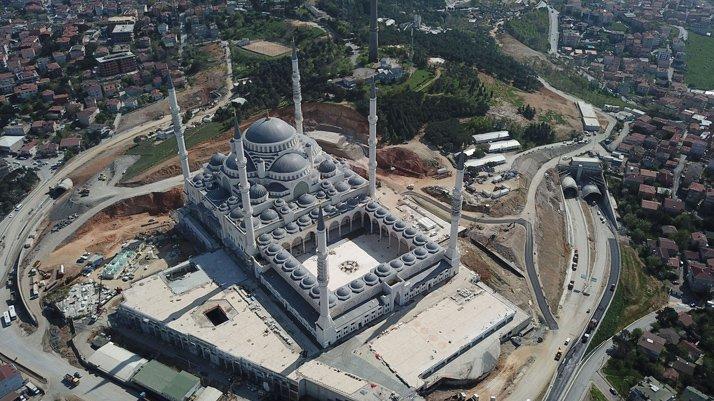 Çamlıca Camii'nda sona yaklaşılıyor!