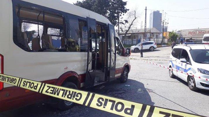 İstanbul'da dolmuş şoförünü dövdüler