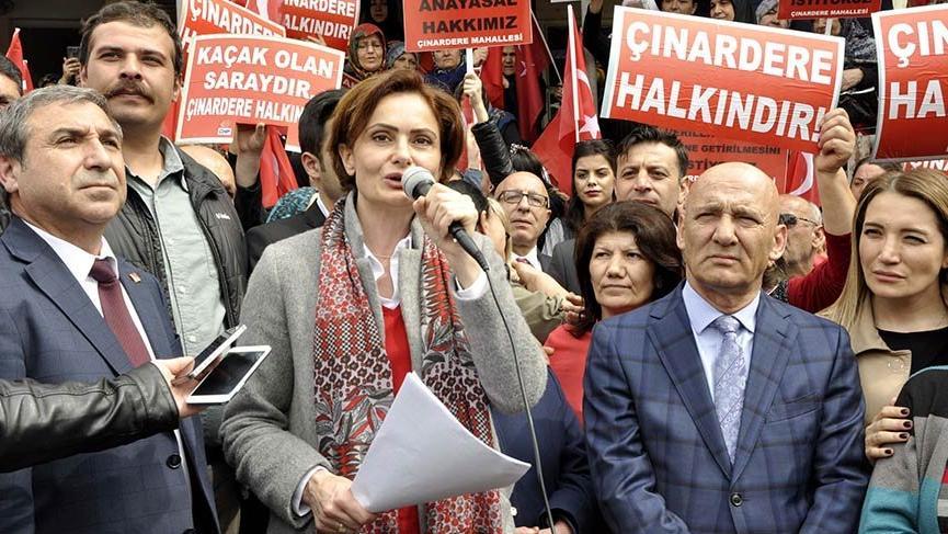 CHP'lilerden Çınardere'de açıklama