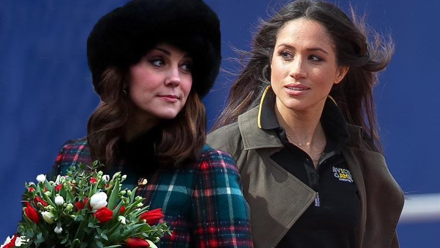Kate Middleton ve Meghan Markle'ın birbirlerinden nefret ettiği iddia ediliyor
