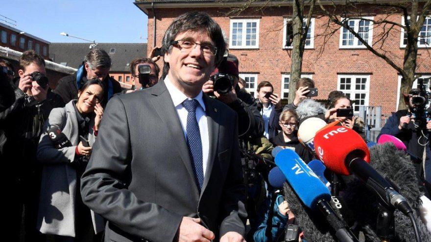 Katalan lider hapisten çıktı