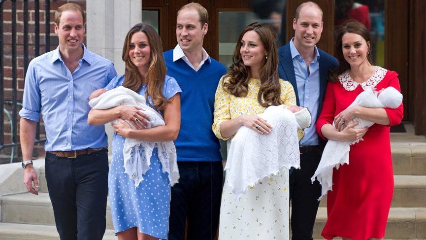 Kate Middleton üçüncü çocuğunu dünyaya getirdi