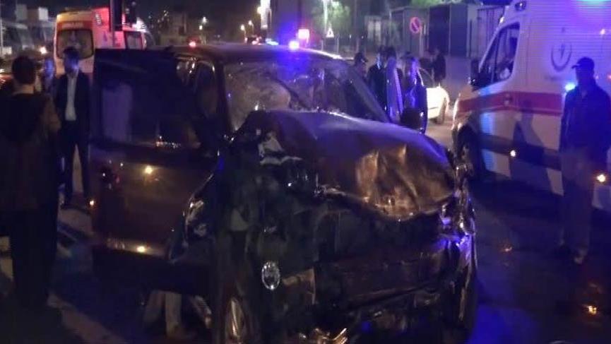 İstanbul Sultanbeyli'de trafik kazası: 9 yaralı