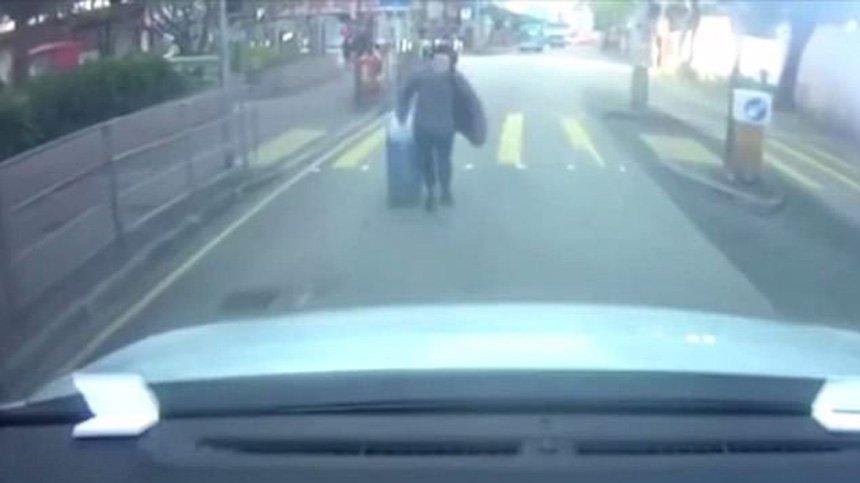 Bu kaza görüntüsüne inanamayacaksınız!