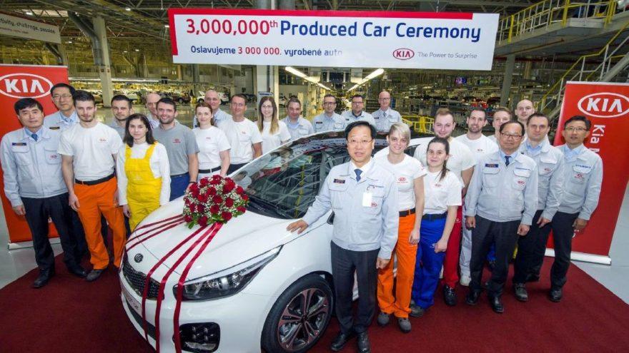 KIA'dan 3 milyonuncu otomobil!
