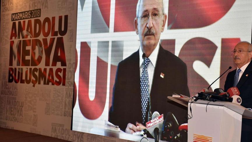 Kılıçdaroğlu gazetecilerin derdini anlattı, gazeteciler yazmadı