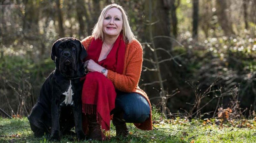 Ölümcül hastalığını köpeği sayesinde öğrendi…