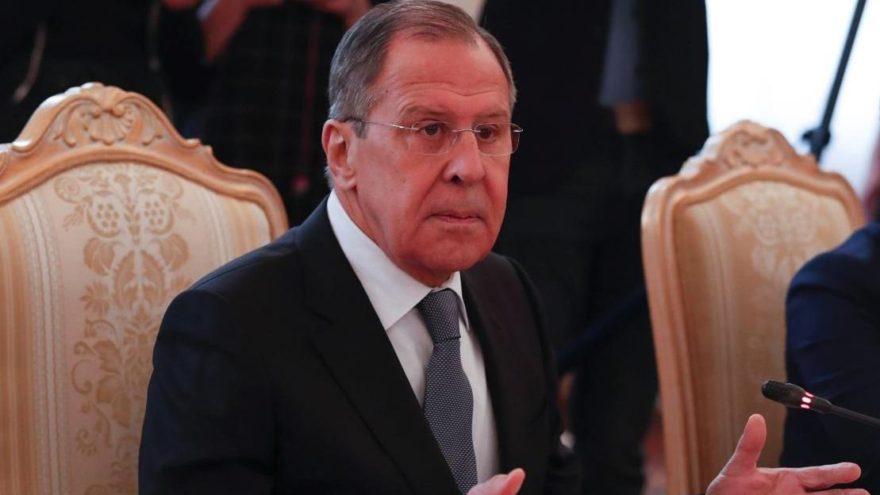 Lavrov'dan sert çıkış: Bunlar mizansen