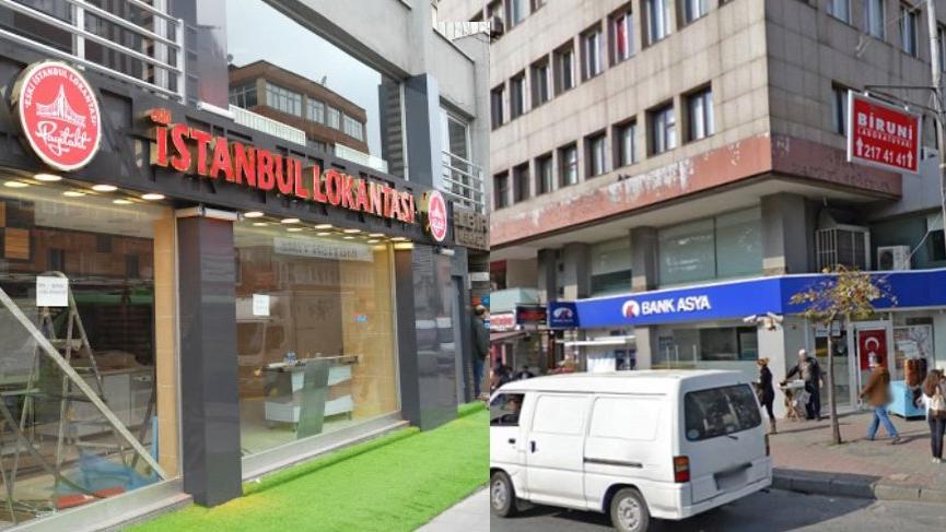 Bank Asya'nın eski yerine oğul Gencebay restoran açtı