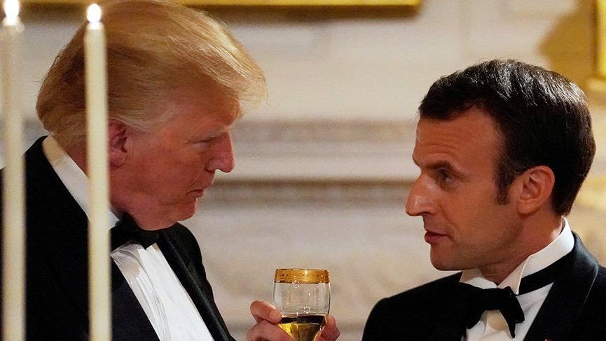 Macron-Trump arasında 'fazla samimiyet': Eşinden fazla seviyor