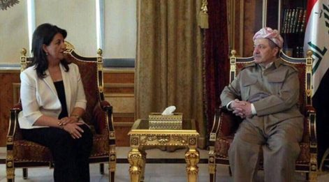 HDP'li vekiller Barzani ile görüştü!