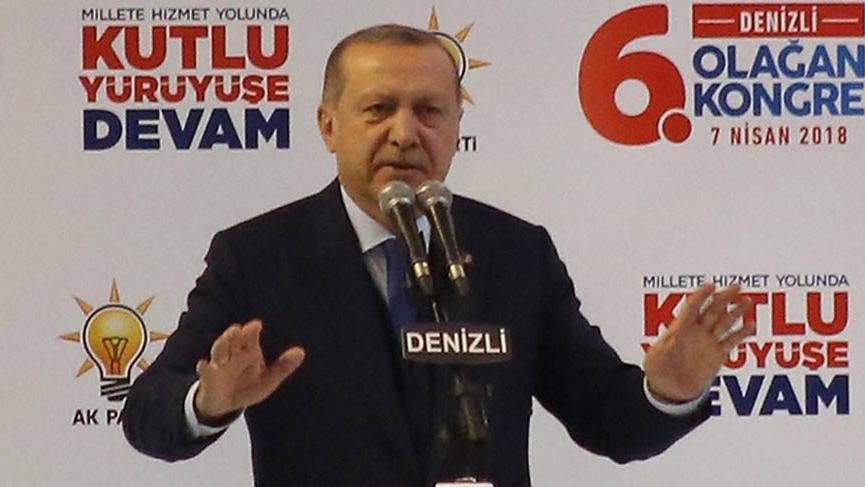 Cumhurbaşkanı Erdoğan Aydın'dan sonra Denizli'de!