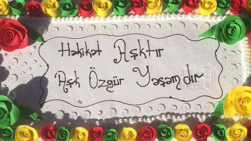 Polis, HDP binasına getirilen pastaya el koydu
