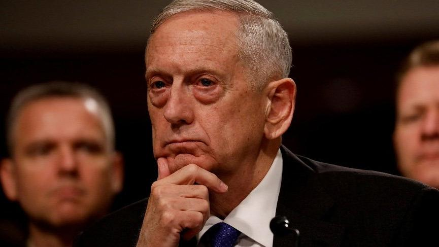 Son dakika haberi... ABD Savunma Bakanı Mattis: Seçenekleri Trump'a sunmaya hazırız
