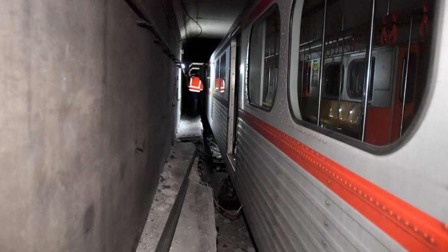 Ankara metrosundaki arıza giderildi