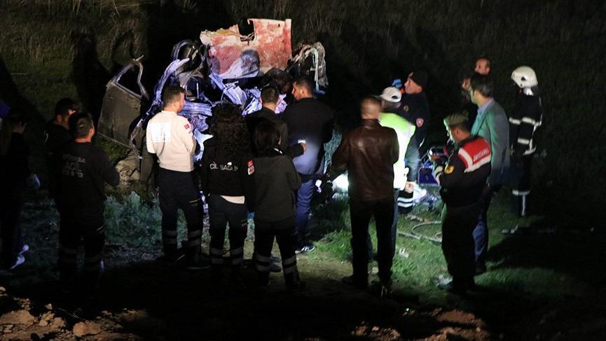Nevşehir'de feci kaza! 5 ölü, 4 yaralı