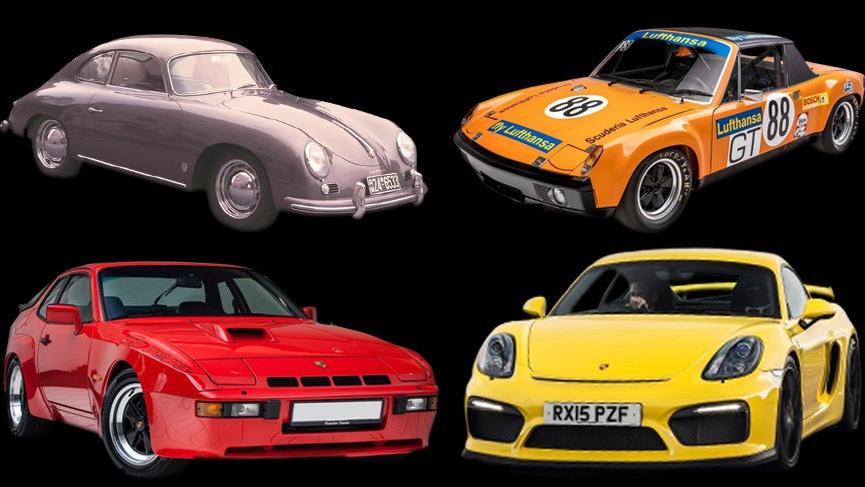 İşte Porsche'nin tüm GT otomobilleri