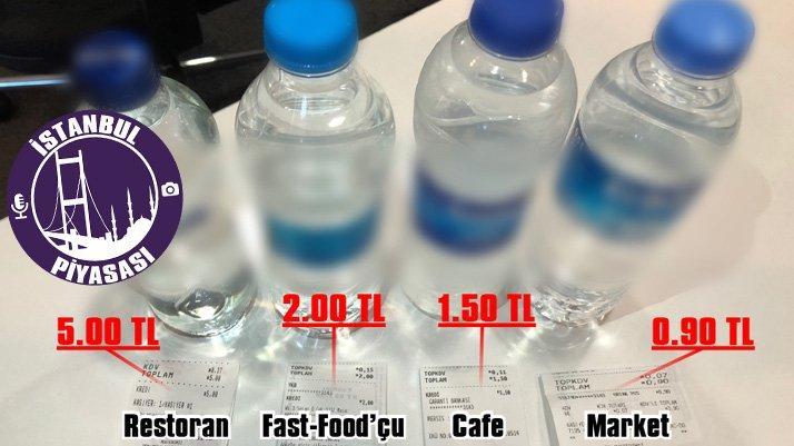 Su sudan ucuz değil