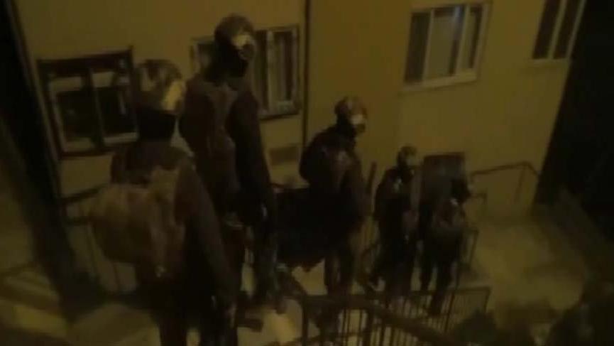 Bahçelievler'de araç kundaklayan 5 PKK'lı yakalandı
