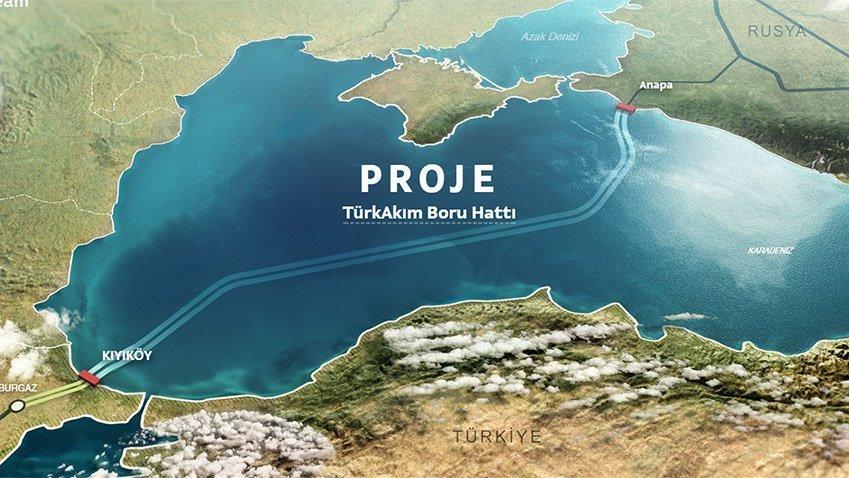 Gazprom Türk Akımı için İtalyanlarla görüştü