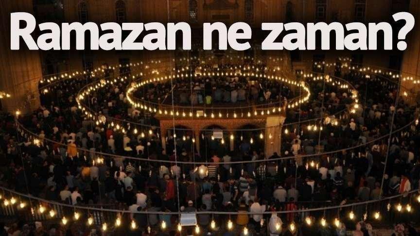 2018 Ramazan ne zaman başlıyor? Ramazanın ayının ilk günü hangi gün? Ramazan Bayramı tatili kaç gün?
