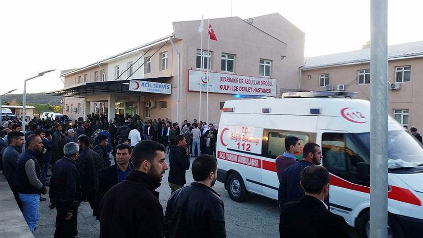 Diyarbakır'dan son dakika kötü haber! 1 korucu şehit, 3'ü korucu 4 yaralı