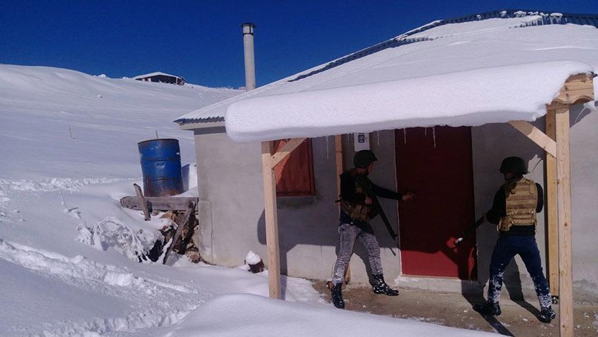 Trabzon'da, terör örgütü PKK'ya yönelik operasyon