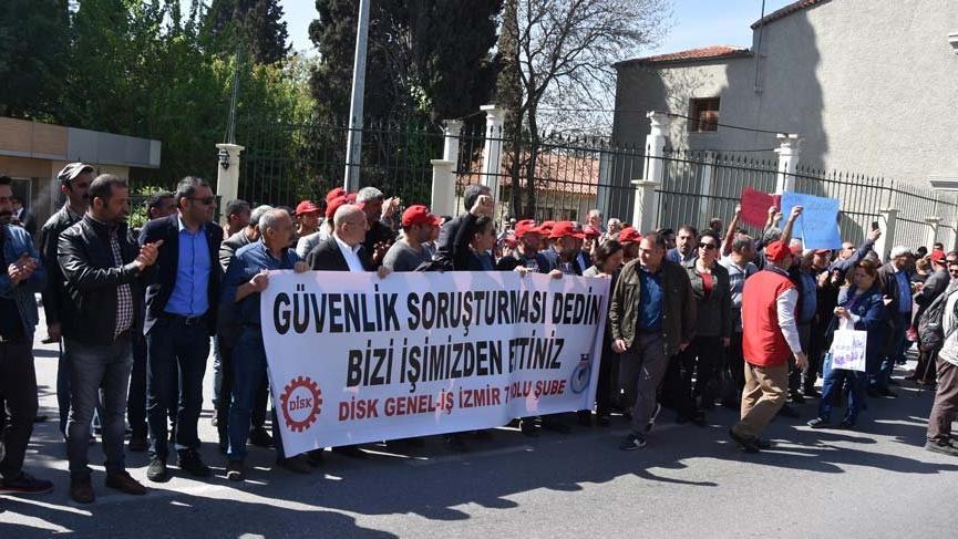 Güvenlik soruşturmasına takılan taşeron işçiler için oturma eylemi başlatacak