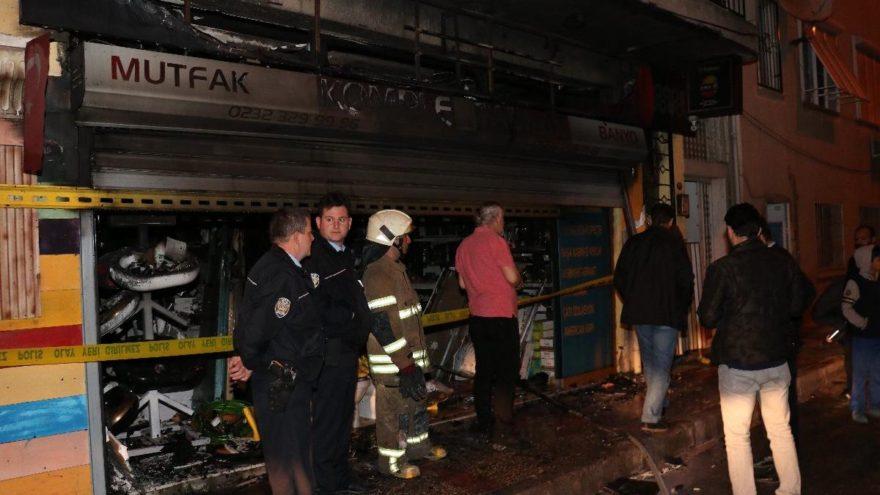 Hırdavat dükkanında yangın! Bir ölü