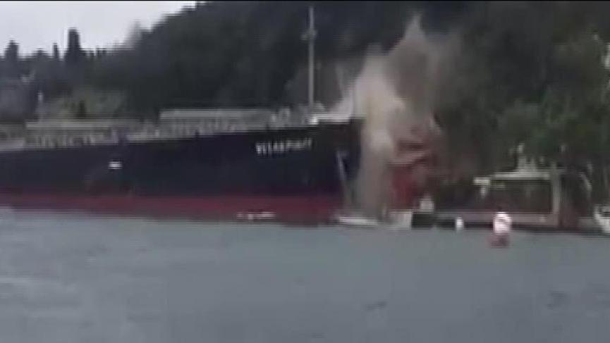 İstanbul Valiliği'nden gemi kazasıyla ilgili açıklama