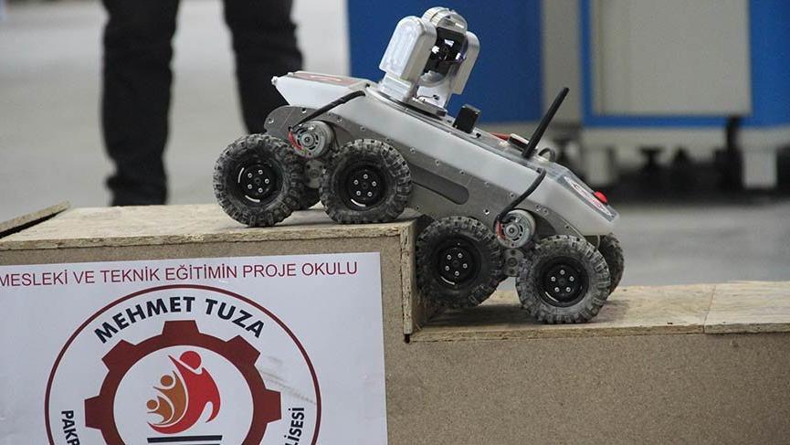 Liselilerden askeri araç 'Porsuk'