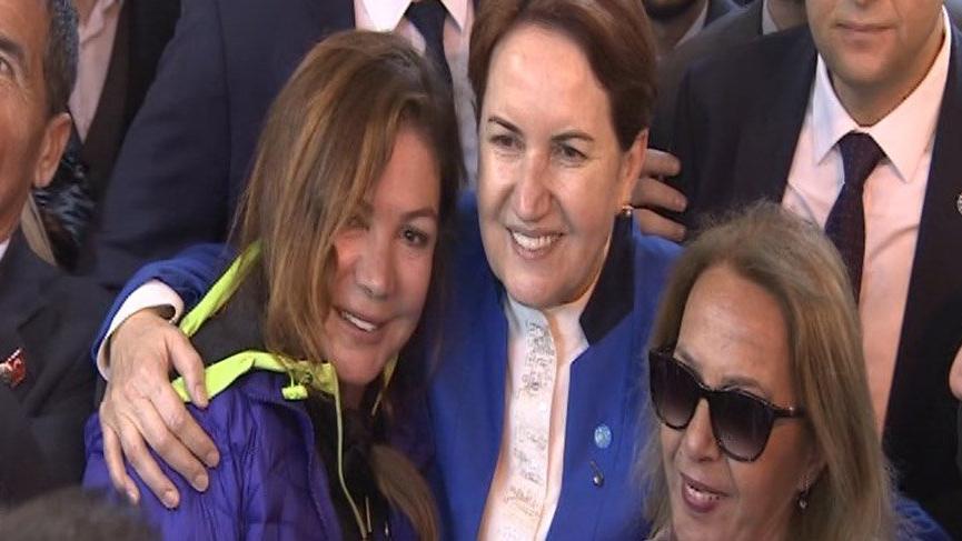 Meral Akşener'den 'Kapalı Çarşı' ziyareti
