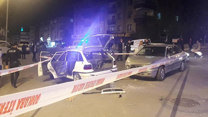 Başkent'te trafik kazası! 4 yaralı