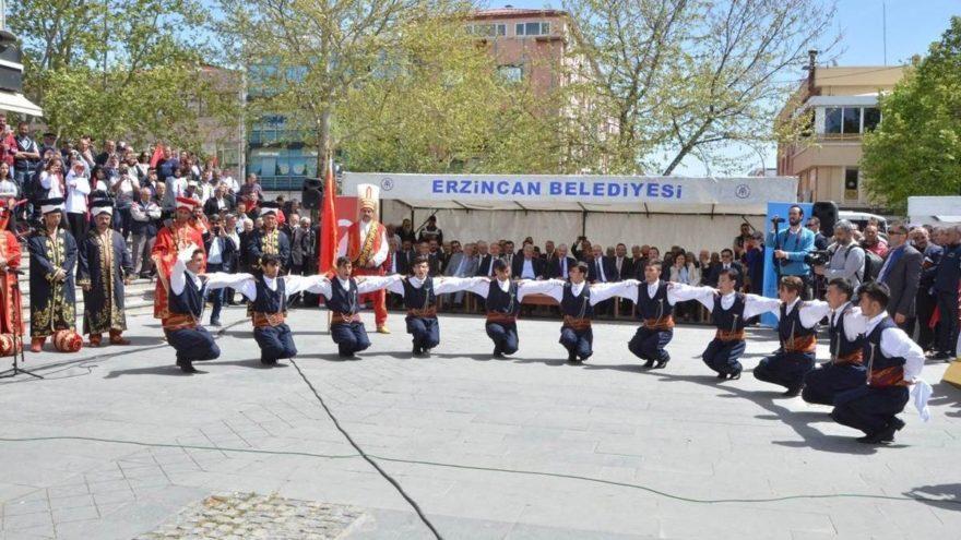 Erzincan'da turizm haftası kutlanıyor