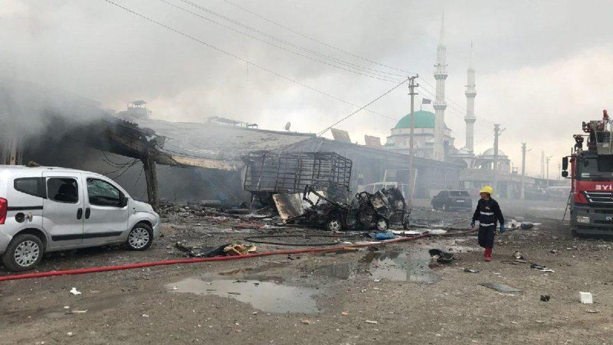 Iğdır'da sanayi sitesinde patlama, ölü sayısı artıyor